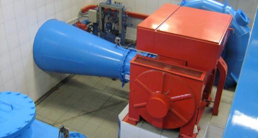 Impianto mini idroelettrico