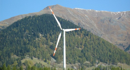Impianto eolico dismesso
