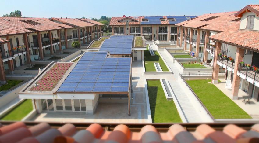 Complesso residenziale ecosostenibile