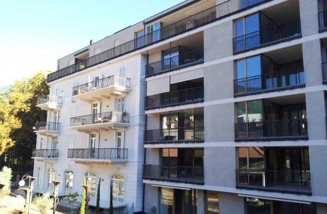 Merano: il complesso residenziale Helianthus