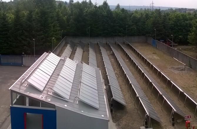 Solare termico e teleriscaldamento