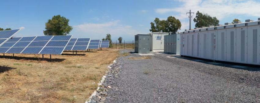 Sistema di accumulo e solare