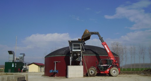 Impianto a biogas nel cuneese