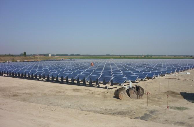 Fotovoltaico su ex discarica