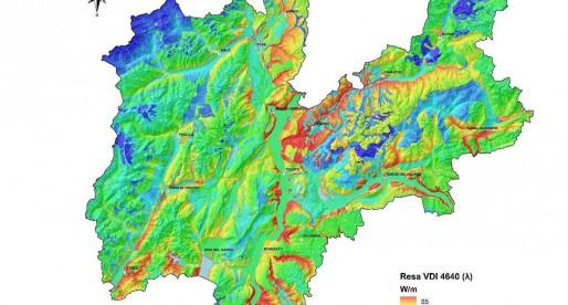 La mappa geotermica