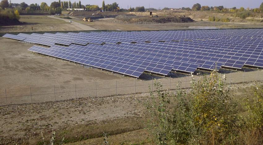Fotovoltaico in area marginale