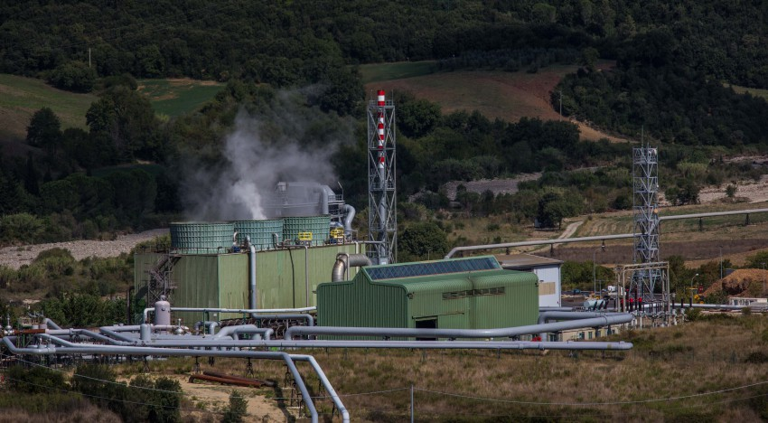 Centrale Cornia 2 – Impianto misto geotermico/biomasse