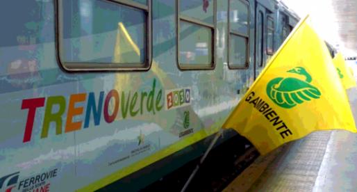 Segui le avventure di Comuni Rinnovabili sul Treno Verde 2030