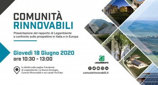 Presentato il Rapporto Comunità Rinnovabili