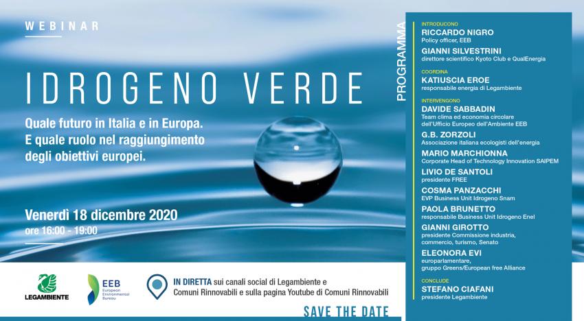 Il futuro dell'idrogeno verde in Italia ed Europa
